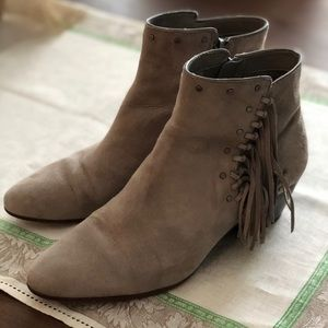 Sam Edelman Taupe Booties